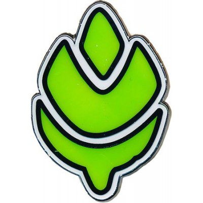 Turffield Gym Badge Collector's Pin