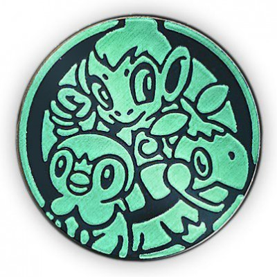 Pokemon Sinnoh Region Starters Collectible Coin