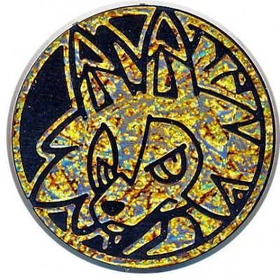 Pokemon Lycanroc (Dusk Form) Collectible Coin