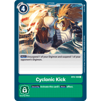 Cyclonic Kick