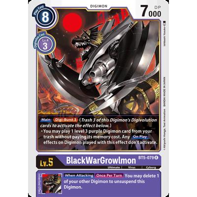 BlackWarGrowlmon