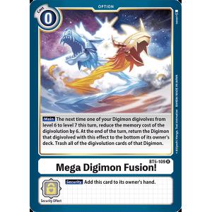 Mega Digimon Fusion!