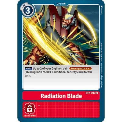 Radiation Blade