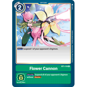 Flower Cannon