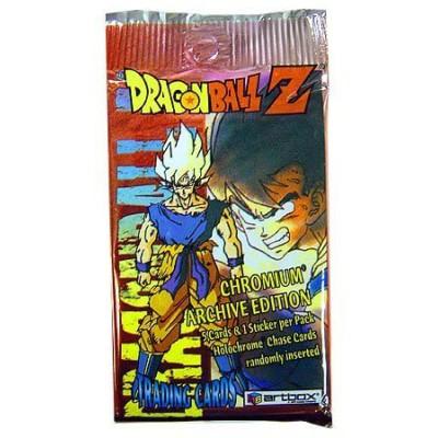 Dragonball Z Artbox Chromium Trading Card Pack