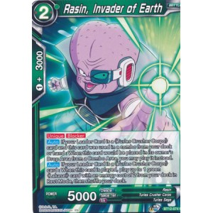 Rasin, Invader of Earth