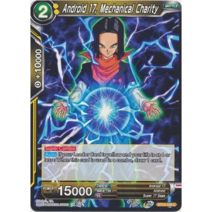 Android 17, Mechanical Charity