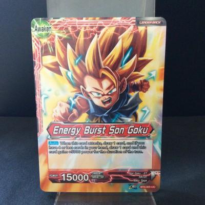 Energy Burst Son Goku