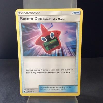 Rotom Dex Poke-Finder Mode