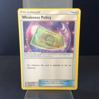 Weakness Policy