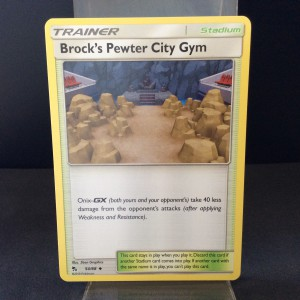Brock's Pewter City Gym