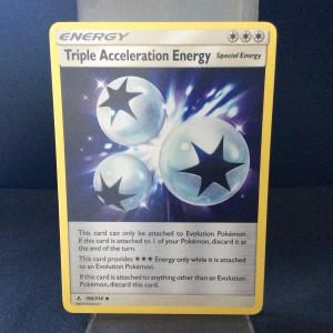 Triple Acceleration Energy