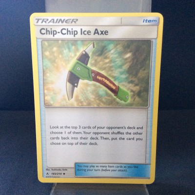 Chip-Chip Ice Axe