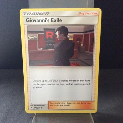 Giovanni's Exile