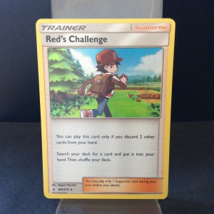 Red's Challenge