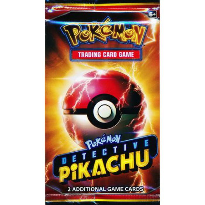 Detective Pikachu Movie Promo 2 Card Booster Pack (Pokemon)