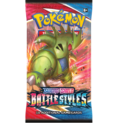 Pokemon Battle Styles Boosterpack