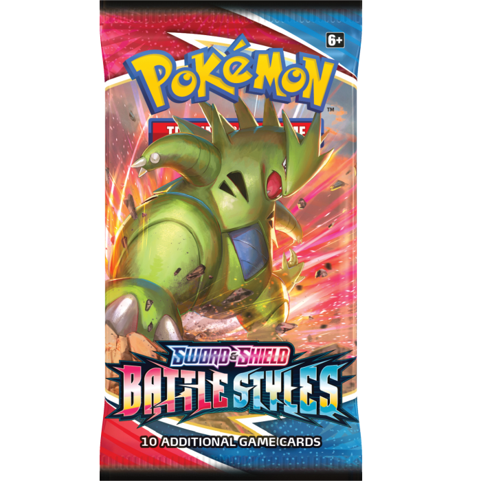 Pokemon Battle Styles Boosterpack