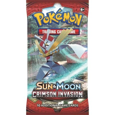 Pokemon Sun & Moon Crimson Invasion Boosterpack