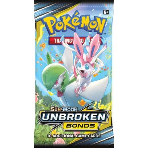 Pokemon Sun & Moon Unbroken Bonds Boosterpack