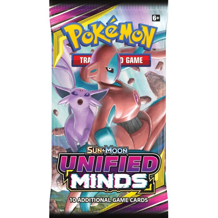 Pokemon Sun & Moon Unified Minds Boosterpack