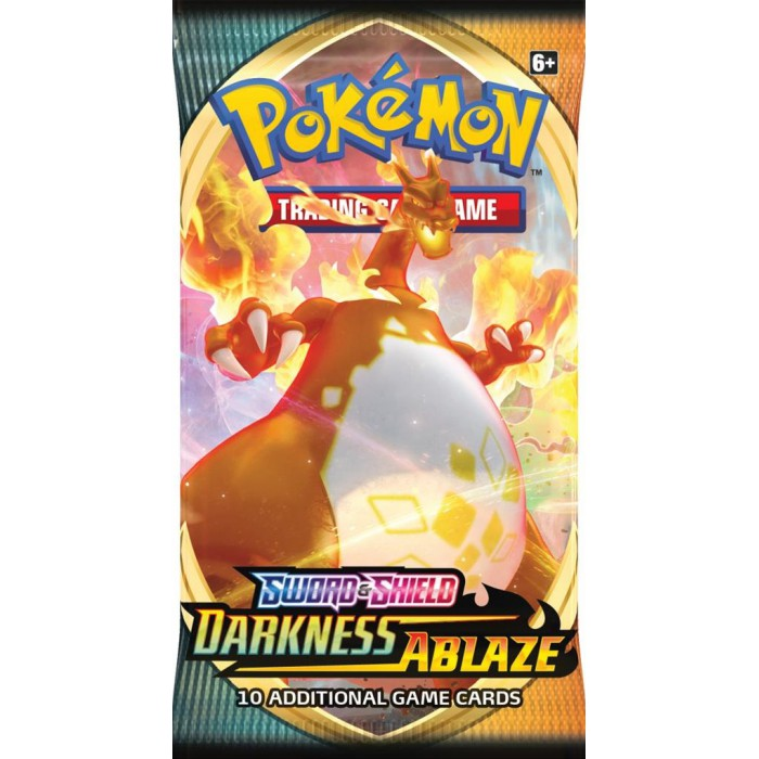 Pokemon Sword & Shield Darkness Ablaze Boosterpack