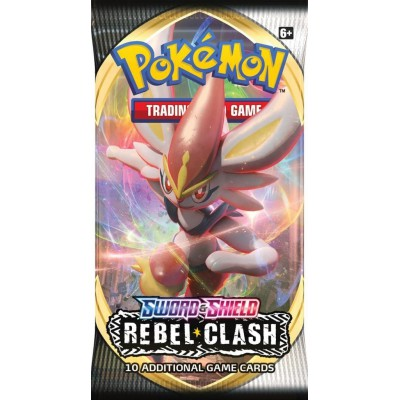 Pokemon Sword & Shield Rebel Clash Boosterpack