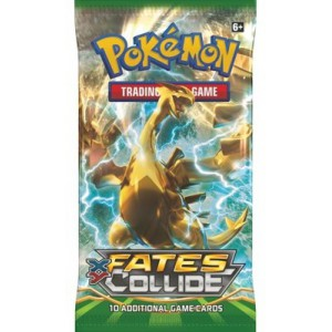 Pokemon XY10 Fates Collide Boosterpack