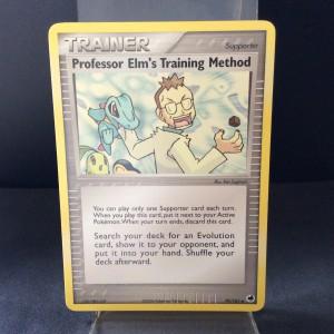 Professor Elm's Training Method