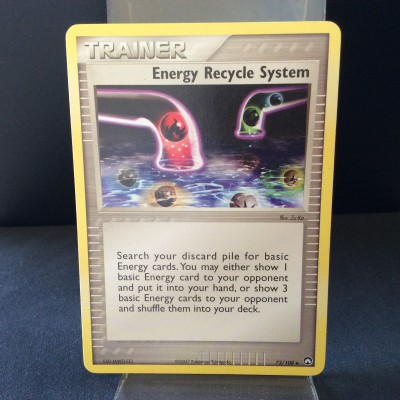 Energy Recycle System