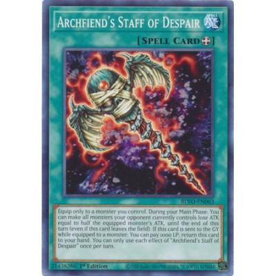 Archfiend's Staff of Despair