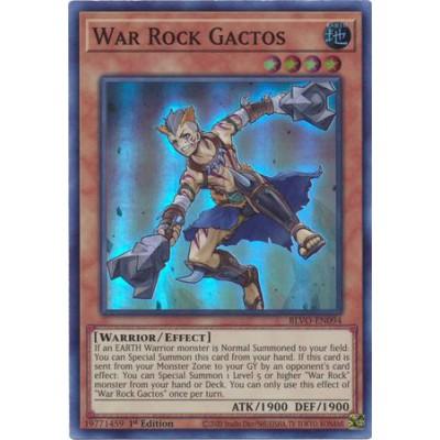 War Rock Gactos