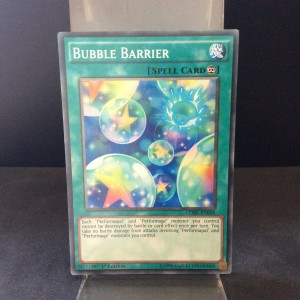 Bubble Barrier