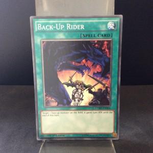 Back-Up Rider