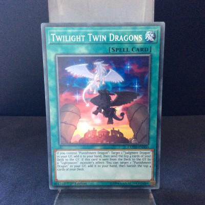 Twilight Twin Dragons