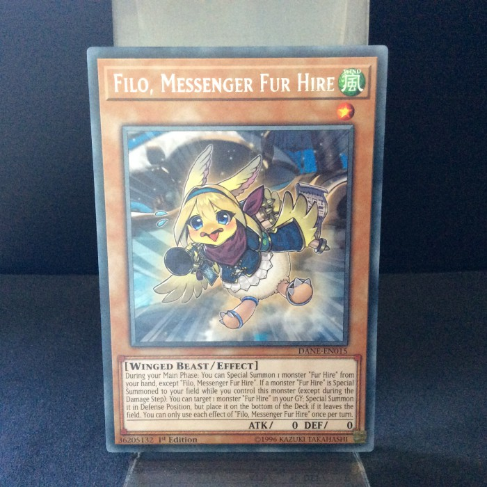 Filo, Messenger Fur Hire
