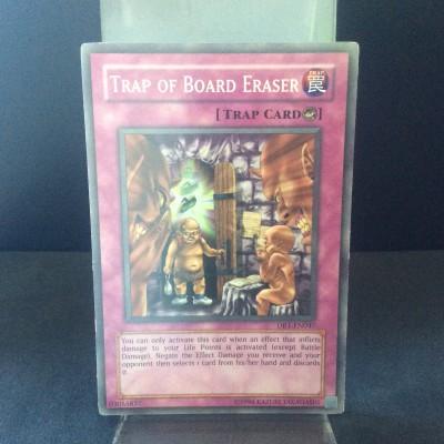 Trap of Board Eraser