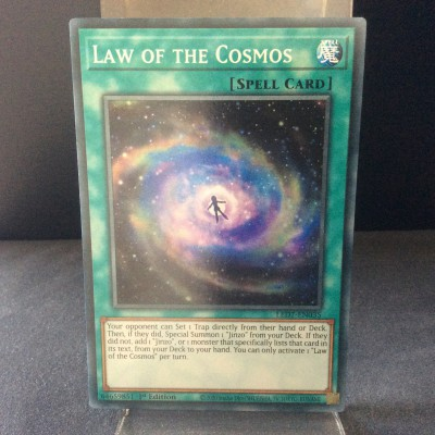 Law of the Cosmos