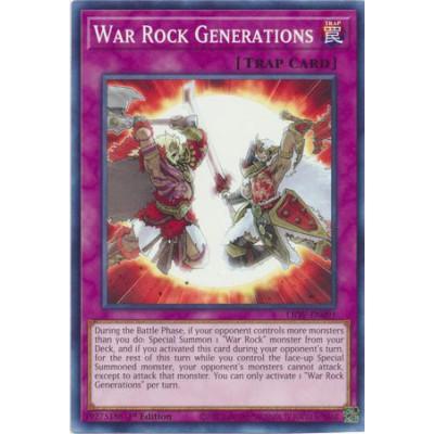 War Rock Generations
