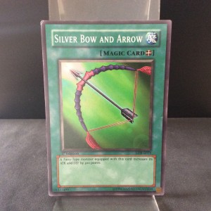 Silver Bow and Arrow