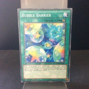 Bubble Barrier
