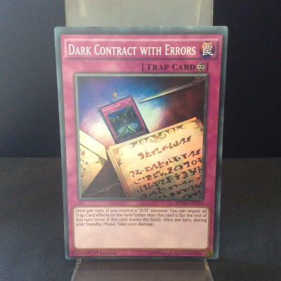 Dark Contract with Errors