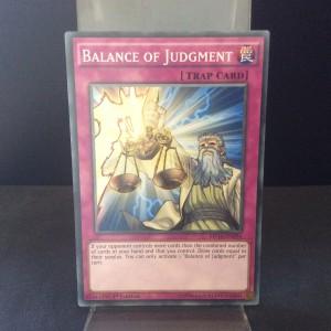 Balance of Judgment