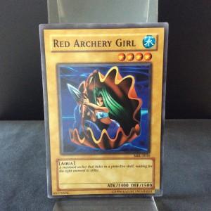 Red Archery Girl