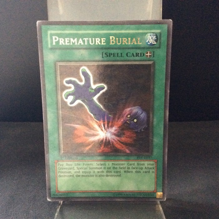 Premature Burial - PSV-E037 - 1st edition - English - Ultra