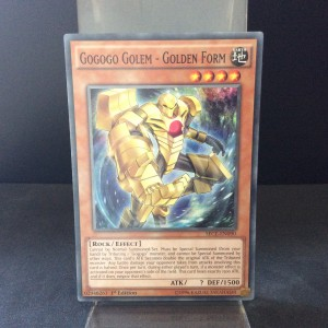 Gogogo Golem - Golden Form