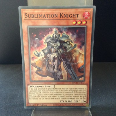Sublimation Knight