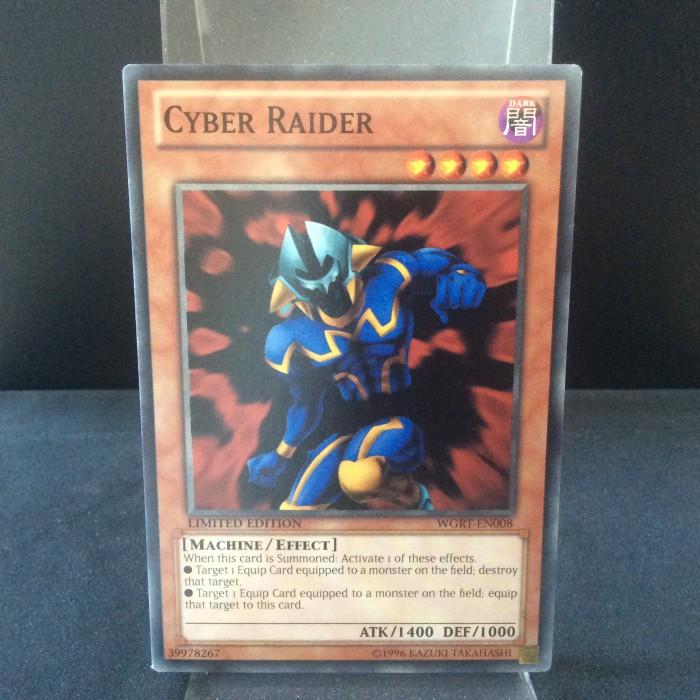 Cyber Raider - Yu-Gi-Oh! Monstros de Duelo