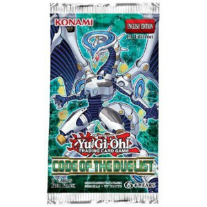 Yu-Gi-Oh! Code of the Duelist boosterpack