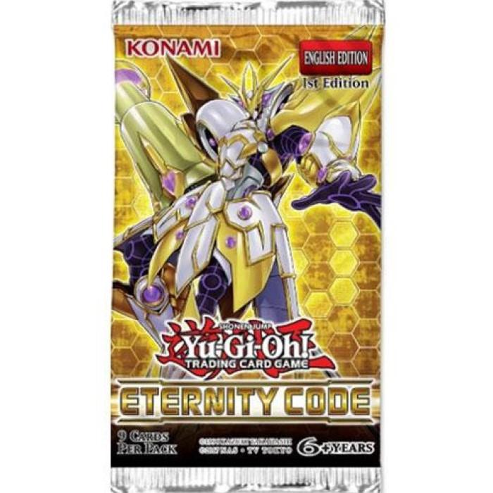 Yu-Gi-Oh! Eternity Code boosterpack